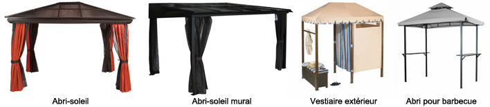 Les abris solaires guides d 39 achat rona for Abris soleil mural