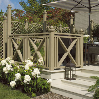 Paint a deck or outdoor wood structure 1 rona for Peintre sur bois