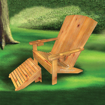 Build a child's garden chair
