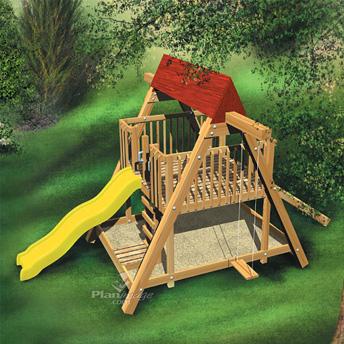 Fabriquer Un Portique De Jeux Pour Enfants Plans De