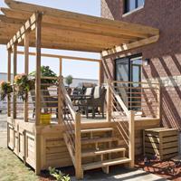 Planifier la construction d 39 une terrasse guides de for Film sous terrasse bois