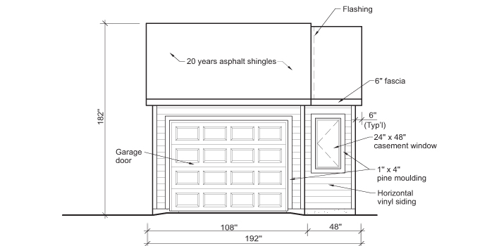 Build A Garage 1 Rona