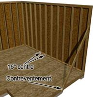 Construire une remise de jardin - PLANS DE CONSTRUCTION   RONA
