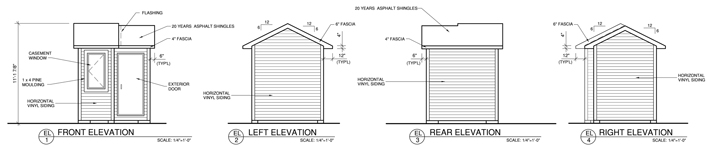 Build A Backyard Shed Construction Plans Rona