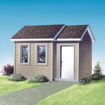 Garden Sheds Rona build a backyard shed - construction plans | rona