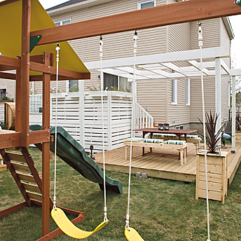 Play structure kit.