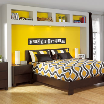 fabriquer une t te de lit caissons plans de. Black Bedroom Furniture Sets. Home Design Ideas
