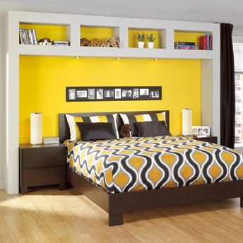 fabriquer une t te de lit caissons plans de construction rona. Black Bedroom Furniture Sets. Home Design Ideas