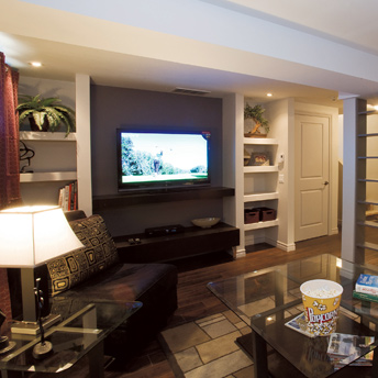 Salon Equipment Packages >> Finish the basement – planning and design - PLANNING GUIDES | RONA | RONA