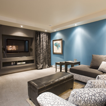 Basement Layout Design finish the basement – planning and design - planning guides | rona