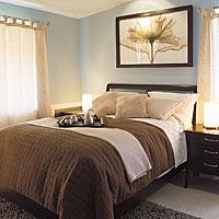 couleurs reposantes pour chambre coucher