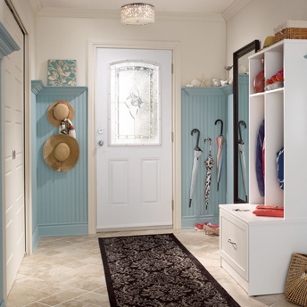Foyer and mudroom floors best options planning guides for Plancher salle de bain sous sol