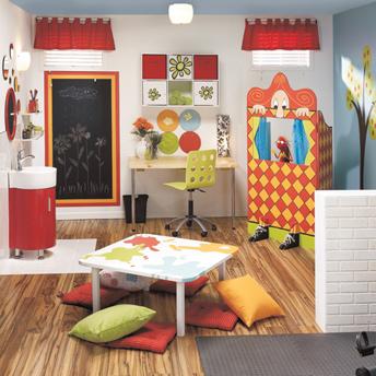 Concevoir une salle de jeu attrayante et s curitaire guides de planification rona - Jeux de chambre a decorer ...