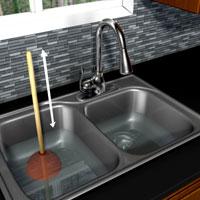 d boucher un renvoi d vier ou de lavabo 1 rona. Black Bedroom Furniture Sets. Home Design Ideas