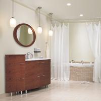 L 39 clairage de la salle de bain guides d 39 achat rona - Lumiere dans salle de bain ...