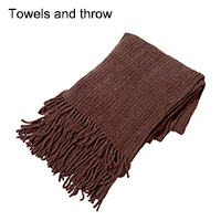 Towels and throw