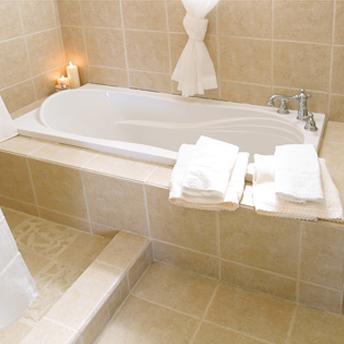 encastrer un bain dans un podium 1 rona. Black Bedroom Furniture Sets. Home Design Ideas