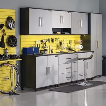 garage un atelier de travail fonctionnel guides d 39 achat rona. Black Bedroom Furniture Sets. Home Design Ideas