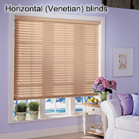 Horizontal (Venetian) blinds