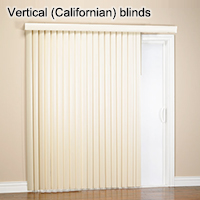 Vertical (Californian) blinds
