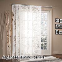 Japanese (sliding) panels