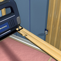 Add extenders to outlet boxes or use deeper boxes to compensate for the thickness of the wainscoting.