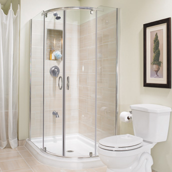 Construire une douche en céramique - Salle de bain et salle ...