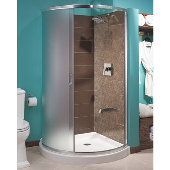 Construire une douche en c ramique 1 rona - Enlever la moisissure dans la douche ...