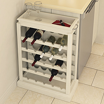 Make a wine rack
