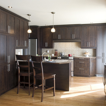 Install pre fabricated kitchen cabinets 1 rona for Hauteur porte fenetre standard