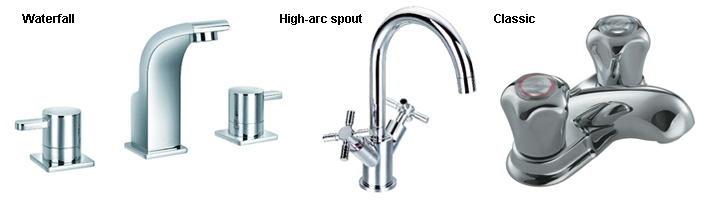 Bathroom Faucet Types types of bathroom faucets | home design styles
