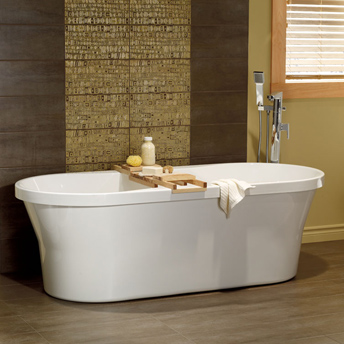 Freestanding tub with floor mount faucetBathtubs   BUYER S GUIDES   RONA   RONA. 60 Inch Freestanding Tub Canada. Home Design Ideas
