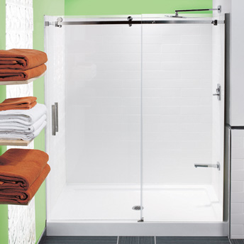 building a ceramic tile shower stall - {1}   rona