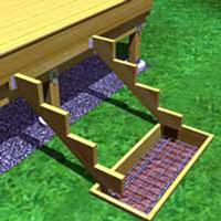escalier exterieur rona