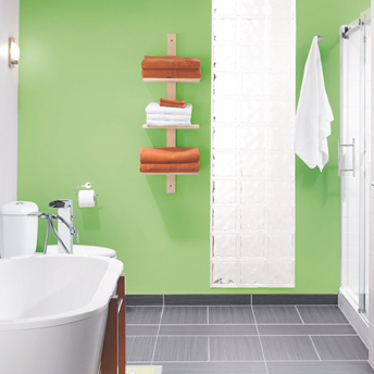 3-tier shelf unit for storing towels
