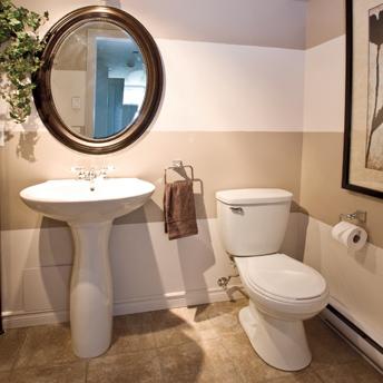 installer un lavabo sur colonne - {1} | rona - Comment Installer Un Lavabo De Salle De Bain
