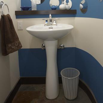 Installer un lavabo sur colonne 1