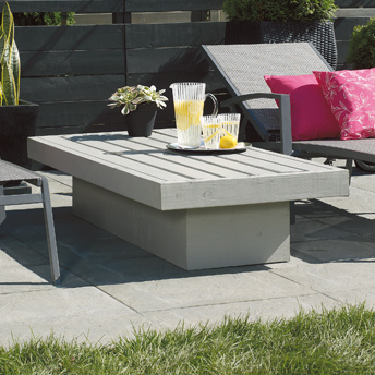 Build a patio coffee table 1 rona - Table basse terrasse ...