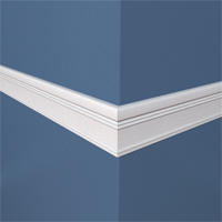 Sample mitres to determine the angle