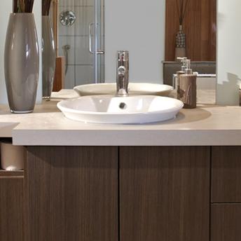 lavabo encastr dans un comptoir - Lavabo Salle De Bain Encastrable