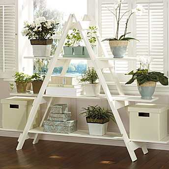 Build a ladder style shelving unit construction plans rona - Etagere bois castorama ...