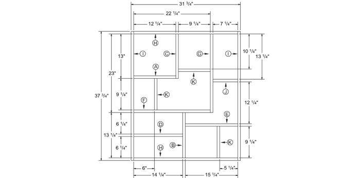 Construire une tag re murale plans de construction rona - Construire une bibliotheque murale ...
