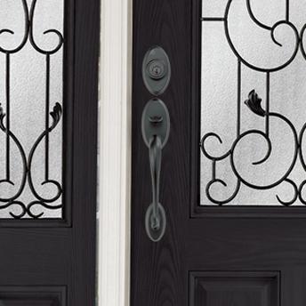 Les poign es et serrures de porte guides d 39 achat rona for Poignee de porte exterieur