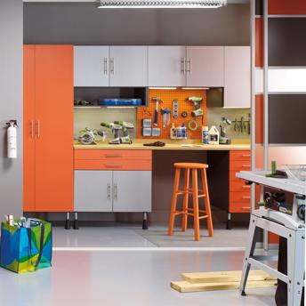 Garage storage solutions planning guides rona rona - Armoire de rangement pour garage ...