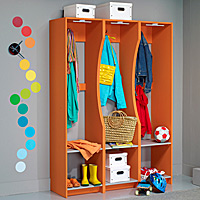 Mudroom area storage solutions