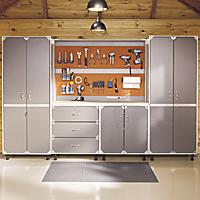 rangement des solutions pour le garage guides de planification rona. Black Bedroom Furniture Sets. Home Design Ideas