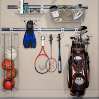 Sports area storage solutions