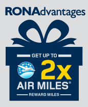 Get up to 2 times AIR MILES rd reward miles