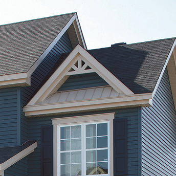 Asphalt shingles are available in hundreds of colours