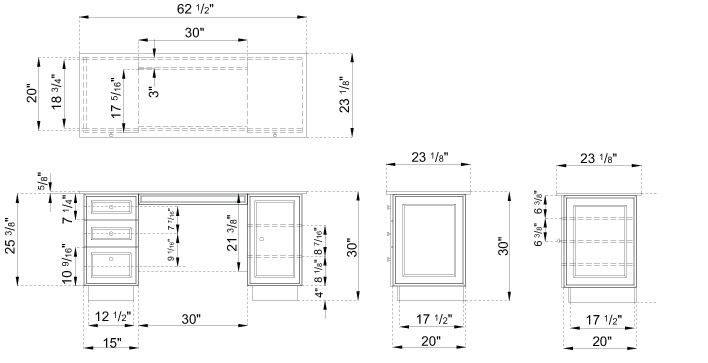 Desk elevation